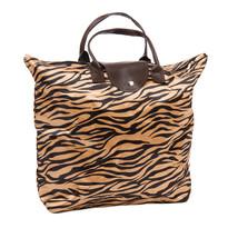 Skládací taška Tiger, hnědá