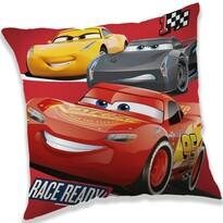 Vankúšik Cars 3 race ready, 40 x 40 cm