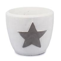 Kaspó Csillag, fehér