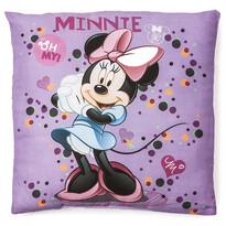 Vankúšik Minnie purple, 40 x 40 cm