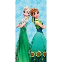 Osuška Ledové království Frozen micro, 70 x 140 cm