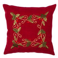 Poszewka na poduszkę Ostrokrzew czerwony, 40 x 40 cm
