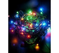 Vianočná reťaz Solight 60 LED 10 m 1V01-M farebná