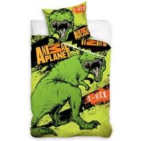 Bavlnené obliečky Animal Planet T- Rex, 140 x 200 cm, 70 x 80 cm