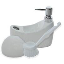 Dávkovač mydla Pearl, biela
