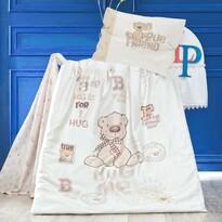 Detské bavlnené obliečky do postieľky Benard, 100 x 135 cm, 40 x 60 cm