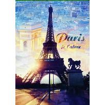 Trefl Puzzle Paříž za úsvitu, 1000 dílků