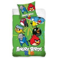 Dětské bavlnené obliečky Angry Birds Rio Mix, 140 x 200 cm, 70 x 80 cm