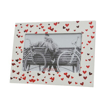 Fotorámeček Hearts, 19,5 x 14,5 cm