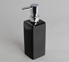 Dozownik mydła czarny, 19 x 5,5 cm