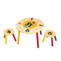 Bino Dětský stolek Krtek 2 sedátka