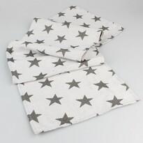 Běhoun Stars bílá, 33 x 140 cm