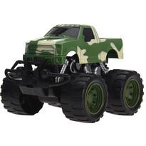 Monster truck verde, 13 cm