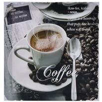 Obraz na plátne Café Sorano, 29 x 29 cm