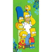 Osuška Simpsons 2016, 70 x 140 cm