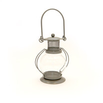 Mini latarnía okrągła, szara