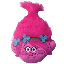Poduszka Trols Poppy Head 3D, 33 x 54 cm