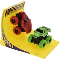 Dětský hrací set Monster truck, červená