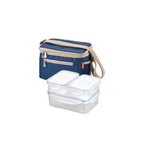 Tescoma Freshbox termobrašna sa 3 dózami modrá