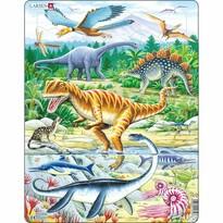 Larsen Puzzle Dinozaury, 35 części