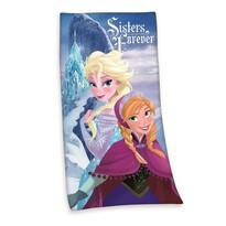 Osuška Ľadové kráľovstvo Frozen Sisters Forever, 75 x150 cm