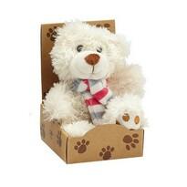 Plyšový medvedík Teddy, biela