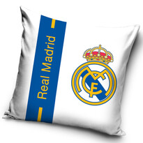 FC Real Madrid Logo kispárna, 40 x 40 cm