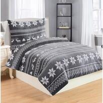 Povlečení mikroplyš Winter Grey, 140 x 200 cm, 70 x 90 cm