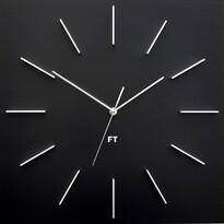 Future Time FT1010BK Square black Designerski zegar ścienny, 40 cm