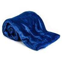 Deka XXL / Prehoz na posteľ modrá, 200 x 220 cm