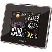 Staţie meteo Sencor SWS 260, cu display color