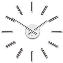 Future Time FT9400TT Modular titanium Designové samolepicí hodiny, pr. 40 cm
