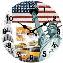 Lowell 14849 nástenné hodiny