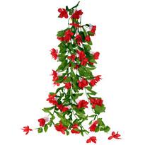 Umelá Fuchsia červená, 60 cm