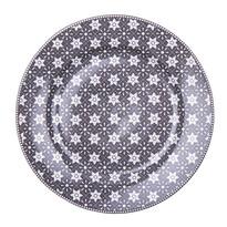 Dezertní talíř Emily 19 cm, šedá