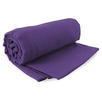 DecoKing Fitness Ręcznik Ekea fioletowy