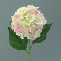 Sztuczny kwiat Hortensja, jasnoróżowy