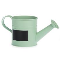 Kanvička so štítkom zelená, pr. 10 cm