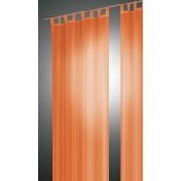 Závěs David oranžová, 140 x 240 cm, sada 2 ks