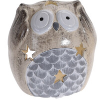 Sfeşnic ceramic Deaf Owl, 9 cm