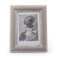 Dřevěný fotorámeček Clasico, šedá
