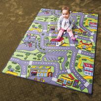 Detský koberec City life, 80 x 120 cm