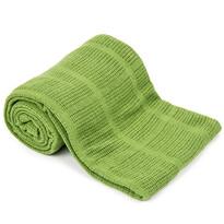 Bavlněná deka zelená, 150 x 200 cm