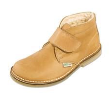 Orto Plus Dámská obuv kotníčková zateplená vel. 37, světle hnědá