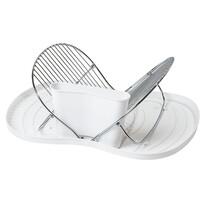 Összecsukható edénycsepegtető, fehér