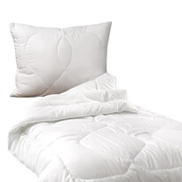 Komplet kołdry i poduszki Luxus plus całoroczny, 140 x 200 cm, 70 x 90 cm