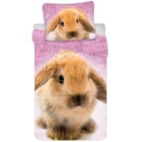 Bavlnené obliečky Zajačik, 140 x 200 cm, 70 x 90 cm
