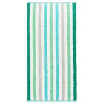 Cawo Frottier ręcznik kąpielowy Stripe tyrkys
