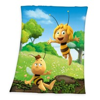 Maja, a méhecske gyermek takaró, 130 x 160 cm