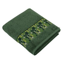 Ręcznik kąpielowy Kamienie zielony